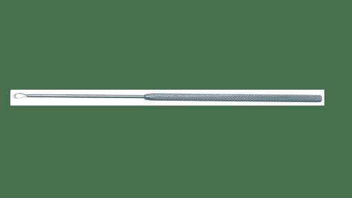 """BILLEAU EAR LOOP, LENGTH 6 1/4"""" SIZE: #1 (3MM) #2 (3.5MM) #3 (4.5MM) GERMAN STAINLESS STEEL O.R. GRADE STAINLESS STEEL"""
