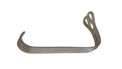 """WIEDER TONGUE DEPRESSORS SMALL BLADE (28MM), LENGTH 5 1/2"""" LARGE BLADE (36MM), LENGTH 6"""" GERMAN STAINLESS STEEL O.R. GRADE STAINLESS STEEL"""