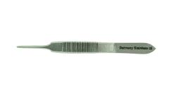 GRAEFE Iris Forceps, straight, 1x2 teeth