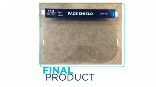 Summit Face Shield 100 per box
